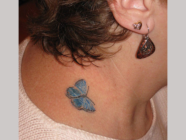 my first tattoo 25 Superb Small Butterfly Tattoos