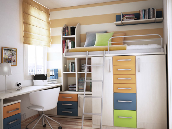25 Astonishing Storage Ideas For Small Spaces - SloDive