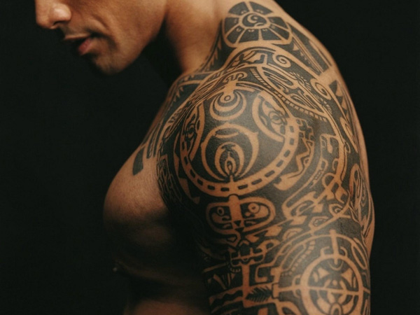 dwayne johnson shirtless 20 Interesting The Rocks Tattoo Designs
