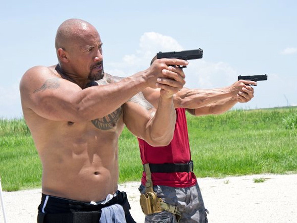 Dwayne Johnson Shooting