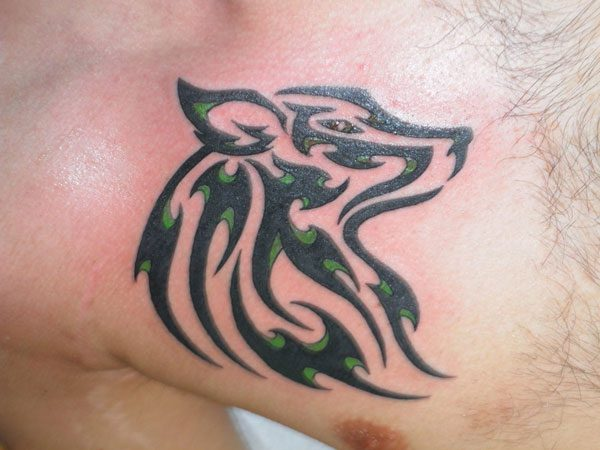 b6f4060a6 Tribal Wolf Tattoo - 25 Spectacular Collections   Design Press