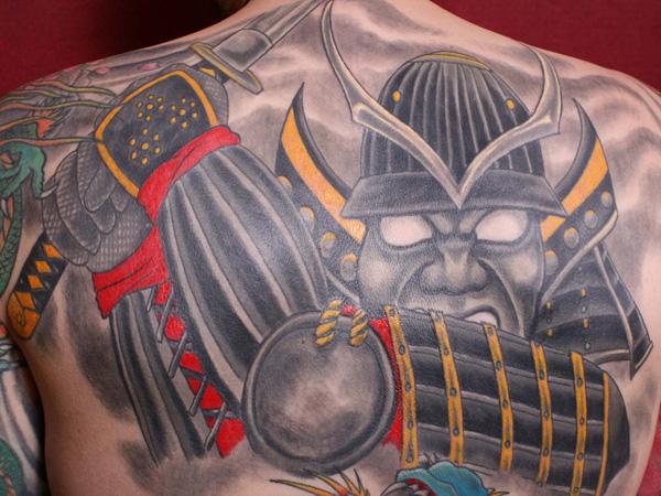 Roman Warrior Tattoos Designs Warrior back 25 impressive