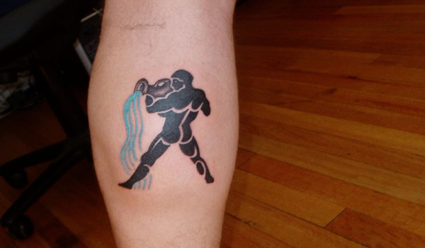 ouch tattoo 30 Incredible Aquarius Tattoos