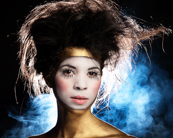 golden pierrot 25 Excellent Avant Garde Hairstyles
