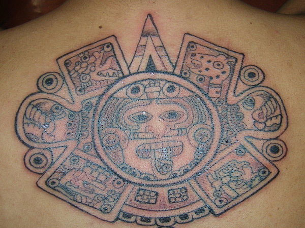 edgar aztec 25 Incredible Aztec Tribal Tattoos