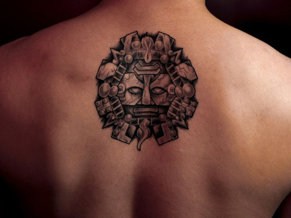 first tattoo 25 Incredible Aztec Tribal Tattoos