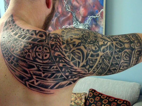 toms tattoo 25 Incredible Aztec Tribal Tattoos