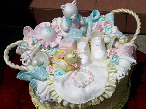 Baby Shower Cute Basket