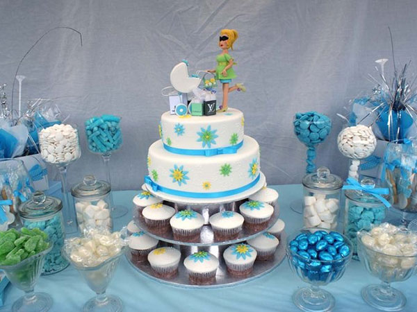 40 Lively Baby Shower Centerpieces Slodive Baby Shower Blue