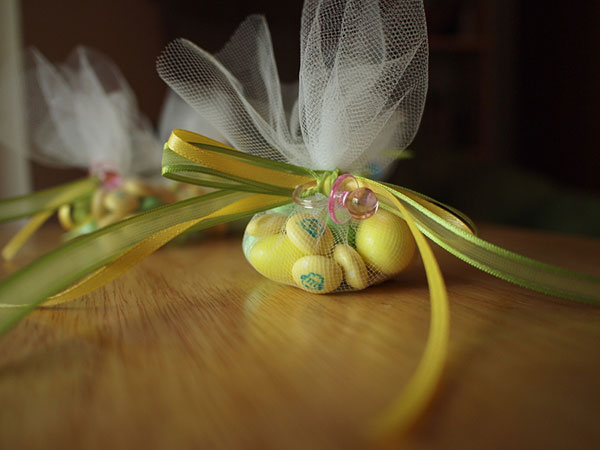 Baby Shower Yellow Candies