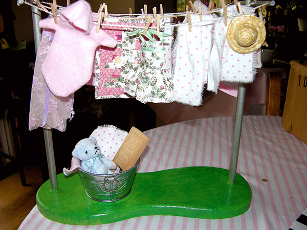 Clothesline The Baby Shower