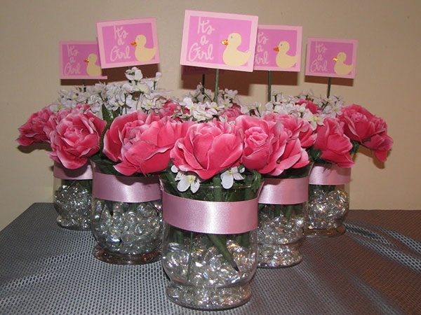 Baby Shower Centerpiece 40 Lively Centerpieces Slodive