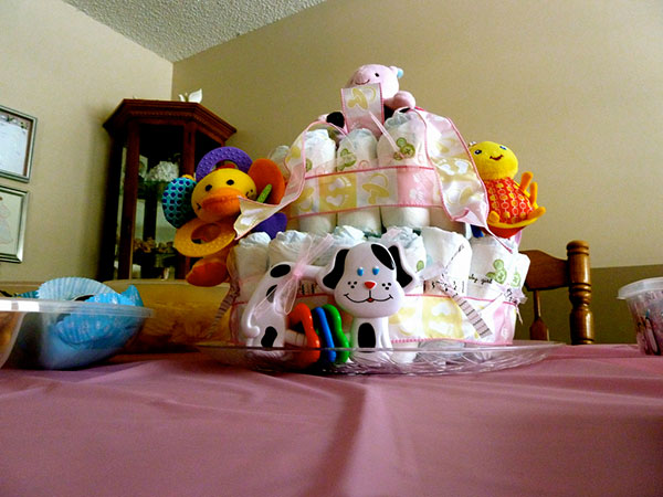 Baby Shower Toys Centerpiece
