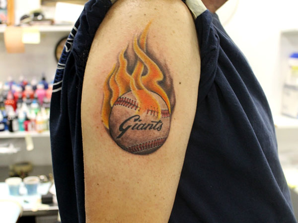 favorite baseball team 25 Stupendous Baseball Tattoos