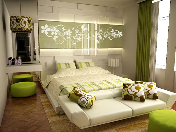 understated green - Bedroom Ideas For Women
