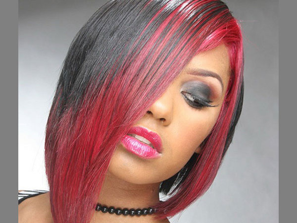 Surprising 25 Awesome Black And Red Hairstyles Slodive Hairstyle Inspiration Daily Dogsangcom