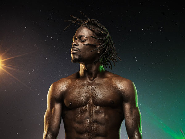neon africa 25 Interesting Black Male Hairstyles