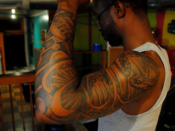 african american tattoo 25 Attractive Black People Tattoos