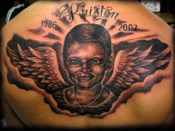 memorial tattoo 25 Attractive Black People Tattoos