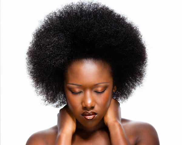 Afro Model Hairstyle