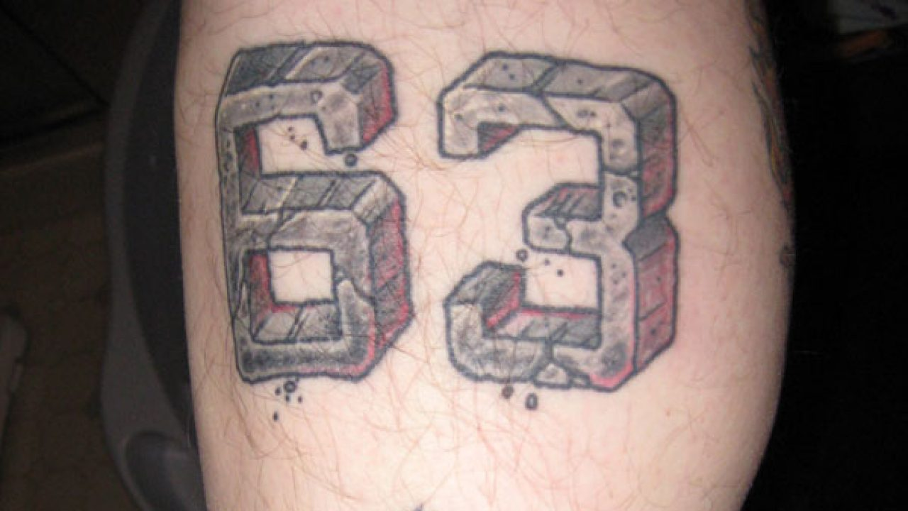 Number Tattoos 25 Different Designs With Images Design Press See more ideas about roman numbers tattoo, alphabet symbols, symbolic tattoos. number tattoos 25 different designs