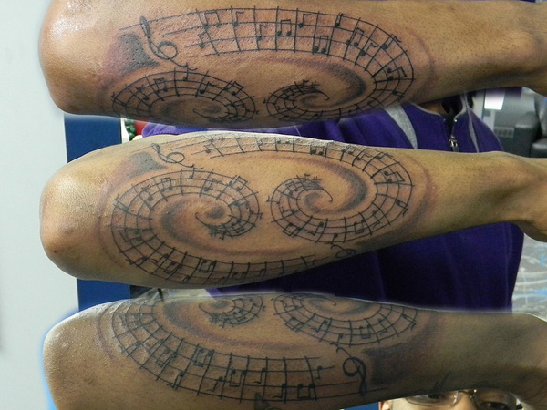 Musical 69 Tattoo