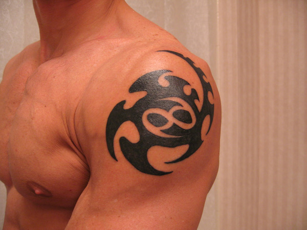 Tribal 69 Power Tattoo