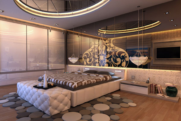 istanbul nights bedroom 25 Spectacular Cool Bedroom Ideas