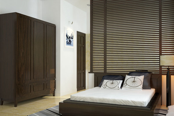 wooden bedroom 25 Spectacular Cool Bedroom Ideas