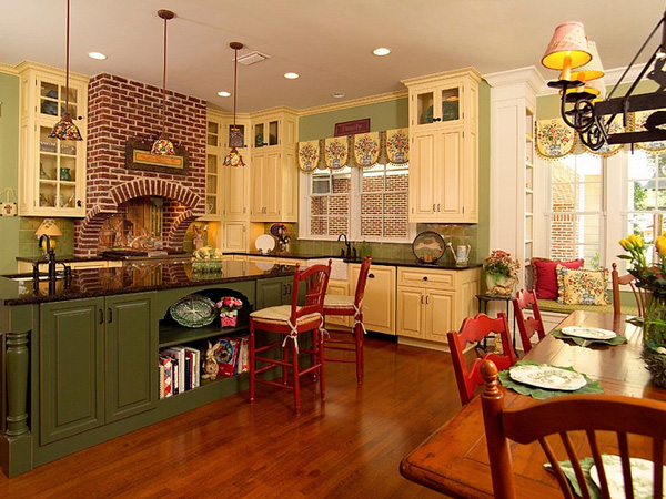Decor Idea Country Kitchen