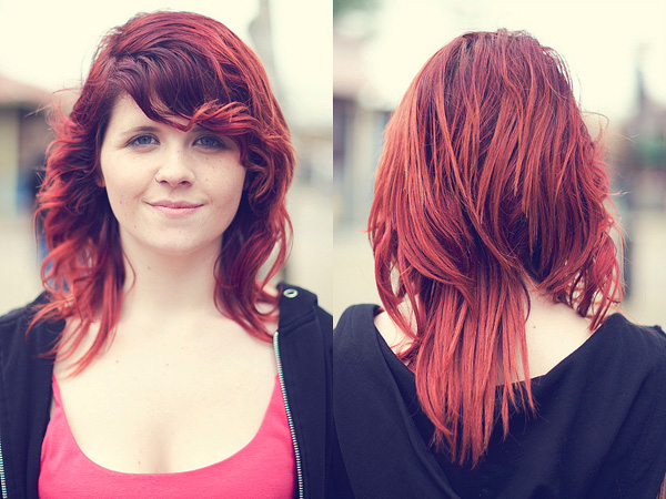 Curls On Fire Hairstyle