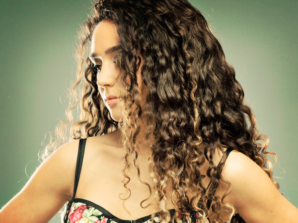 Fresh Curly Hairstyle