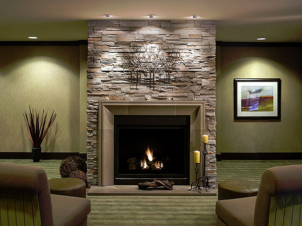 Stylish Fireplace Mantel