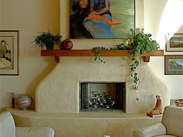 Delicate Fireplace Surround