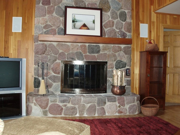 Stony Surround Fireplace