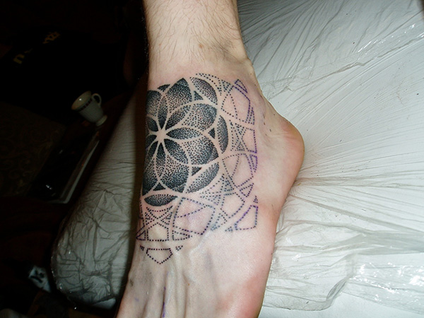 Shaded Flower Of Life