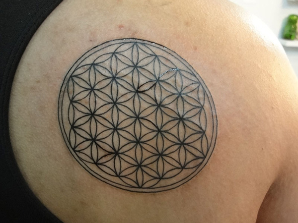 Flower Of Life Tattoo Designs 25 Fabulous Collections Design Press