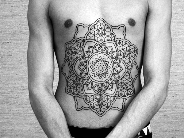 Flower Of Life Emphasized