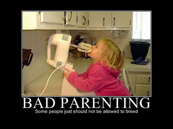 bad parenting mixer 25 Funny Motivational Pictures You Should Check