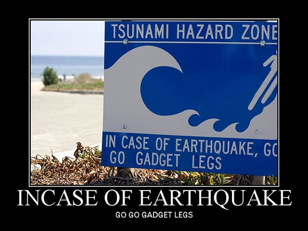 earthquakes tsunami waves 25 Funny Motivational Pictures You Should Check