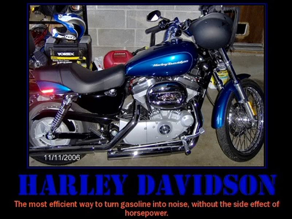 harley picture 25 Funny Motivational Pictures You Should Check