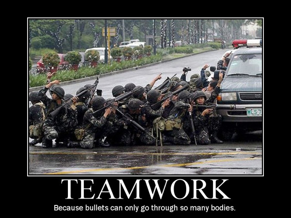 team work 25 Funny Motivational Pictures You Should Check