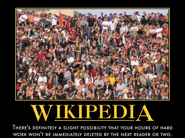 wikipedia motivator 25 Funny Motivational Pictures You Should Check