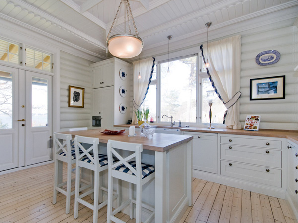 Grey And Blue Galley Kitchen 25 glorious galley kitchen ideas - slodive