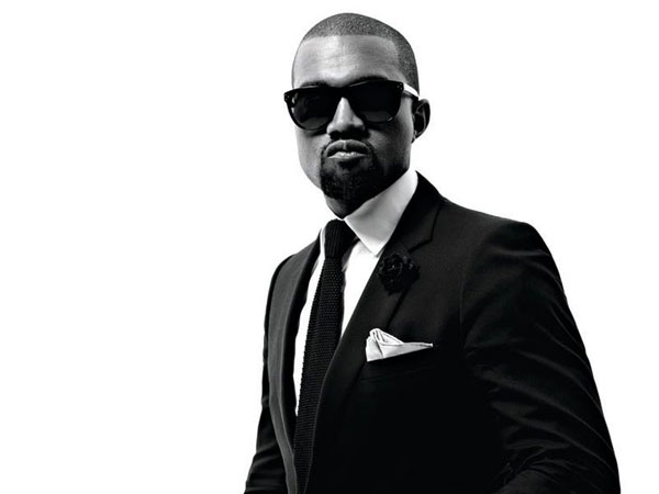 black and white 25 Magnificent Kanye West Pictures