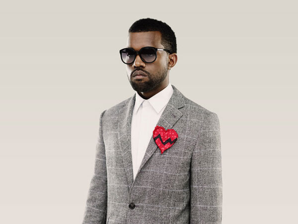 small heart 25 Magnificent Kanye West Pictures