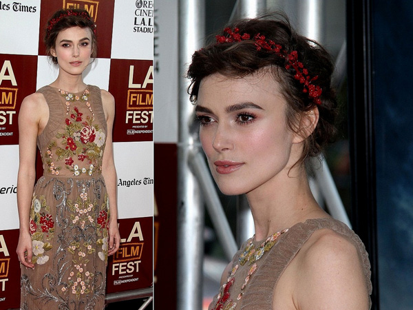 keira another hairstyle 25 Beautiful Keira Knightley Hairstyles