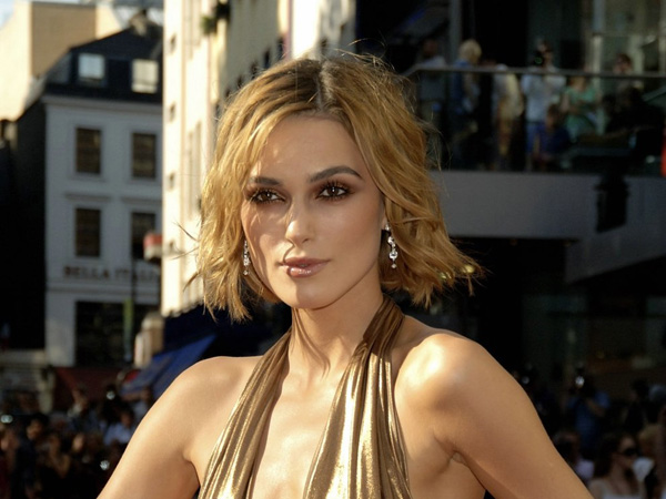 lovely keira hairstyle 25 Beautiful Keira Knightley Hairstyles