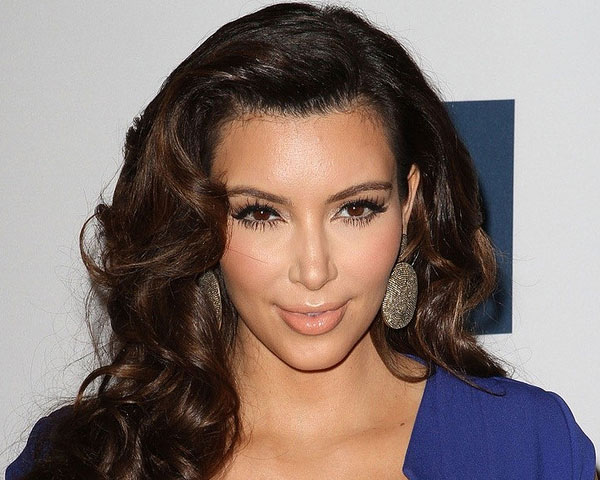 brown hair 25 Impressive Kim Kardashian Hair Color Ideas