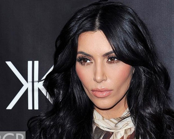 hugo lounge 25 Impressive Kim Kardashian Hair Color Ideas